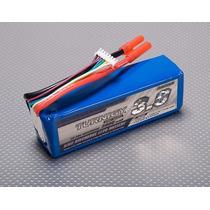 Lipo Bateria 3000mah 6s 20c Turnigy Trex Hk Walkera 500
