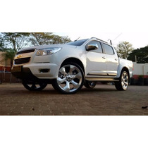 Rodas Trailblazer Aro 20 +pneus Pajero Frontier S10 L200 Vw