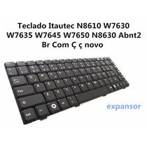 Teclado Itautec N8610 W7630 W7635 W7645 W7650 Abnt2 Br Com Ç