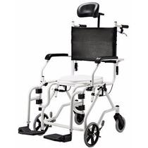 Cadeira De Banho Aluminio Reclinavel Baxmann & Jaguaribe