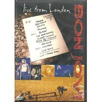 Dvd Bon Jovi Live From London*novo/lacrado