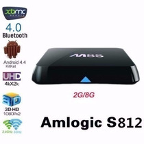 Smart Tv Box M8s Amlogic S812 Quad Core Android 4.4.2