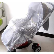 Mosquiteiro Rede Tela Protetor De Carrinho Bebê Frete Grátis