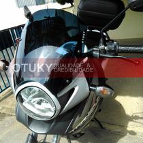 Bolha Otuky 3mm Moto Honda Transalp Xl 700 V Tamaho Padrão