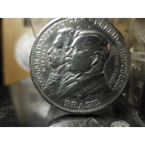 Prata 2 Mil Réis 1922 Centenário Independencia Lot.28