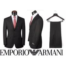 Ternos Slim Armani Hugo Boss E. Zenha Zara E Grifes Lã Fria