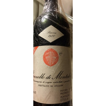 Vinho Tinto Italiano Brunello Di Montalcino Barbi Safra 1986