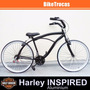 Bicicleta Beach Bike Aro 26 - Retrô Vintage Antiga Cruiser