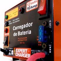 Carregador De Bateria 12 V 10 Amp Automático C/ Reativador