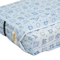 Colchonete P/berço Baby Style Azul - Pequeno