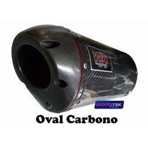 Escapamento Ponteira Wr Oval Fibra De Carbono Kawasaki Z750