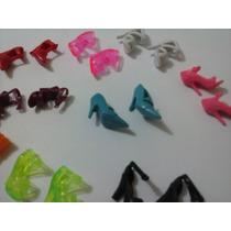 Sapatos Da Boneca Barbie Kit Com 10 Pares Frete Grátis Brasi
