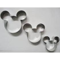 Cortador Mickey E Minnie - Pequeno, Médio E Grande