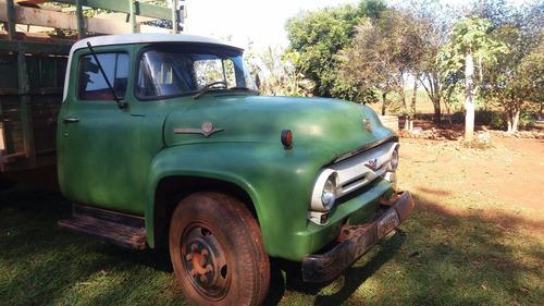 CAMINHAO FORD F 600 1960.