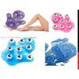 Luva Para Massagem 9 Esferas De Aço. Rosa, Roxa, Verde, Azul