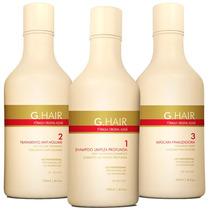 Inoar Ghair Escova Alemã G Hair Inteligente 3x250ml # Alisa
