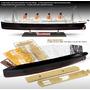 Navio Miniatura Titanic 1/400 Com Partes Coloridas 67cm