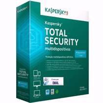 Kaspersky Total Security 2016 2 Dispositivo 1 Ano Original