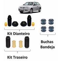 Kit Amortecedor Dianteiro Traseiro Buchas Bandeja Gol G3 G4
