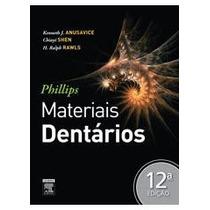 Livro Phillips Materiais Dentários 12/ed