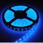 Fita Led Azul 12v A Prova Dágua 3528 300 Leds 5m