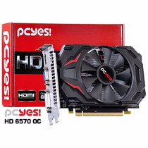 Placa De Video Amd Radeon Hd6570 Oc Edition 2gb Ddr3 128 Bit