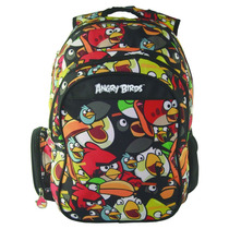 Mochila Angry Birds C/ Compartimento P/ Notebook Abn13002k30