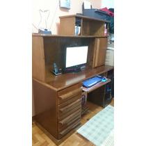 Mesa Para Computador Em Madeira