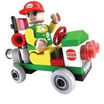 Click It Carrinho Tour 32pc Cidade Similar Lego
