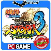 Naruto Shippuden: Ultimate Ninja Storm 3 Full Burst Steam