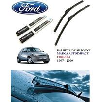 Palheta Silicone Ford Ka 1997, 1998, 1999, 2001, 2005, 2009