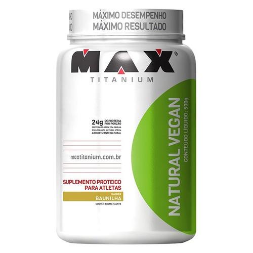 Natural Vegan - 500g - Max Titanium - Chocolate