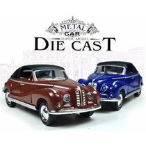 Carro Miniatura Modelo Antigo De Metal Pronta Entrega