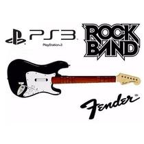 Guitarra Sem Fio Sony Ps3 Rock Band Guitar Hero 12x S/ Juros
