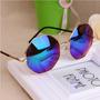 Óculos De Sol Octógono Espelhado