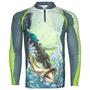 Camiseta Pesca Sublimada Uv - Kff22 Tucunare  Nota Fiscal