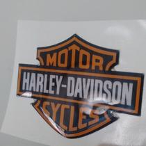Adesivos Resinados Harley Davidson Moto Carro Frete Grátis