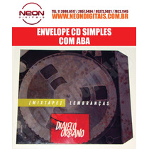 100 Envelope Cd Promocional + Mídia Cd = R$ 345,00