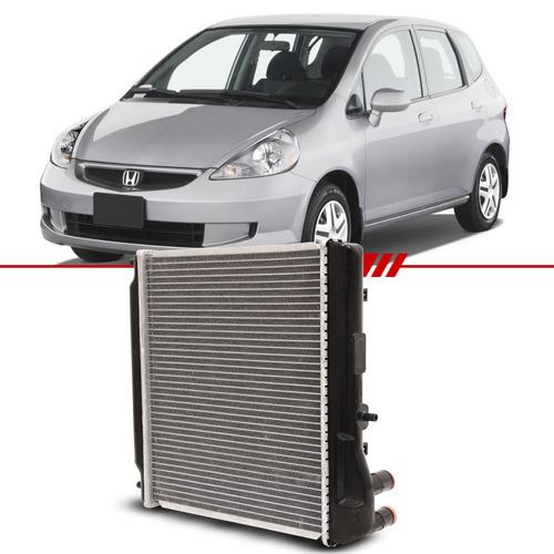 Radiador Fit Lx 1.4 8v Flex 06 07 08 Com Ar Condicionado