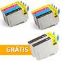 10 Cartuchos P/ Impressora Epson Tx105, Tx115 Compatível