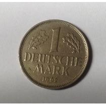 Moeda Alemanha De 1 Deutsche Mark De 1962