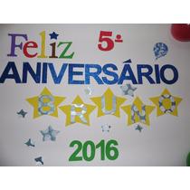 Painel Personalizado Festa Aniversário Eva 2mm Adesivado