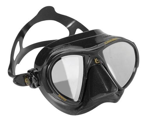 d29537b1b Máscara De Mergulho Silicone Nano Hd Espelhado Cressi. R$ 287.93