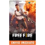 Free Fire 210 Diamantes +10% Bônus - Recarga P/ Conta