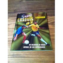 Álbum De Figurinhas - Super Craques 1997 - Completo