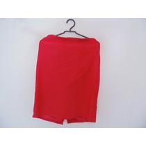 Saia Social Vermelha Plus Size Cód. 812