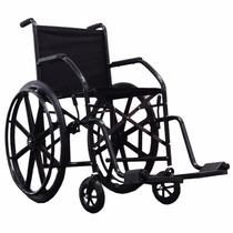 Cadeira De Rodas Cds Dobrável Modelo Cds 101 Pneus Maciços.