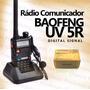 Rádio Comunicador Ht Baofeng Dual Band Uv-5r 136-174/400-520