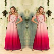 Vestido De Luxo Moda Evangélica