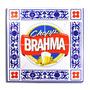 Quadro Modelo Azulejo - Brahma - 30x30 - Madeira Mdf 6mm